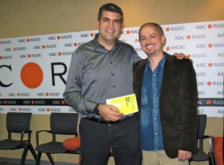 Antonio Núñez y Jaume Segalés, presentador de Protagonistas, ABC Radio