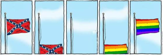 Flags in America by